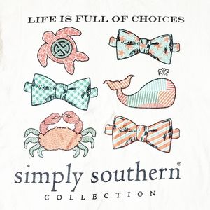 Simply Southern Graphic Tee Shirt Life Choices M